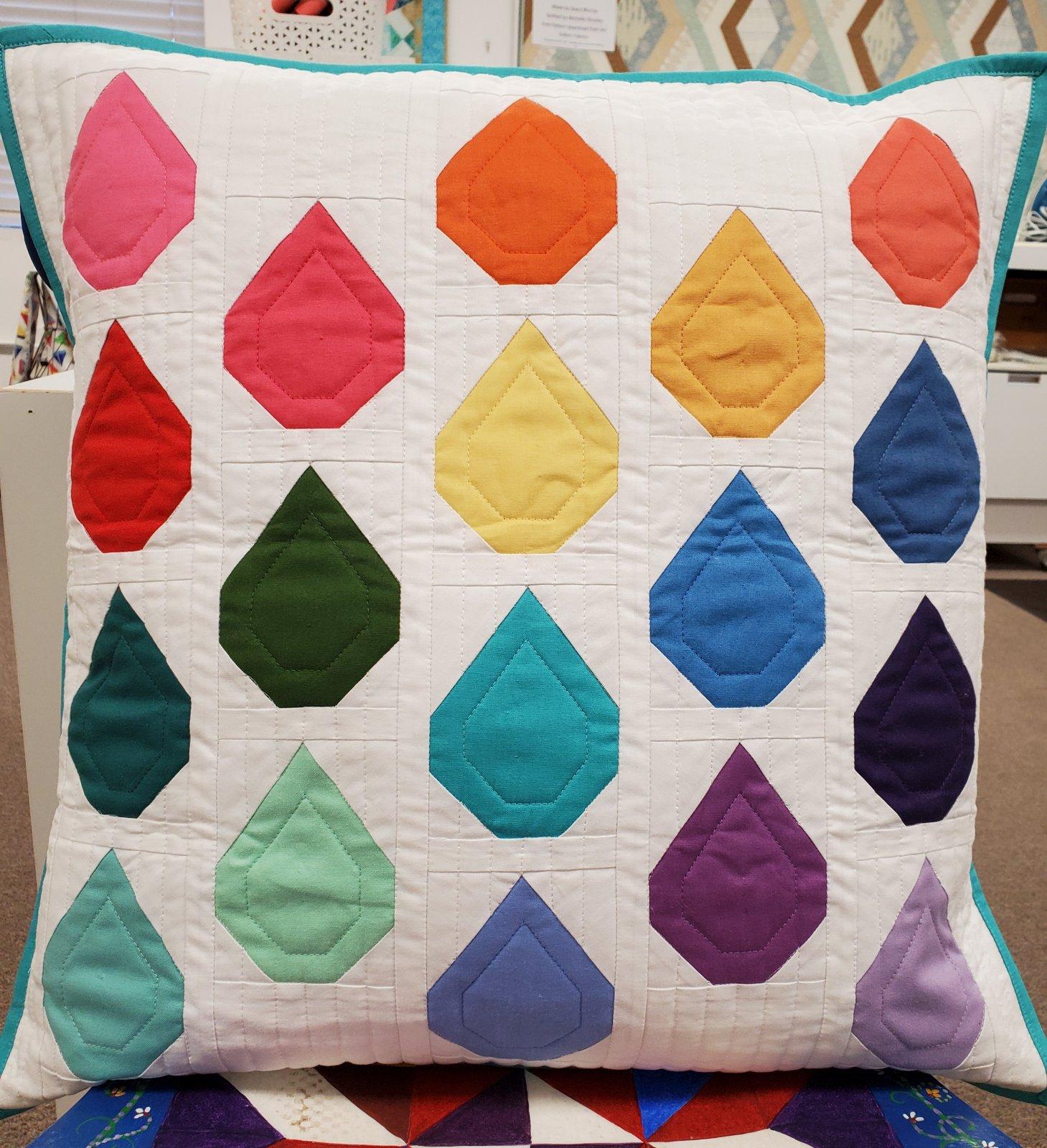 Pillow Kit - April - Raindrops