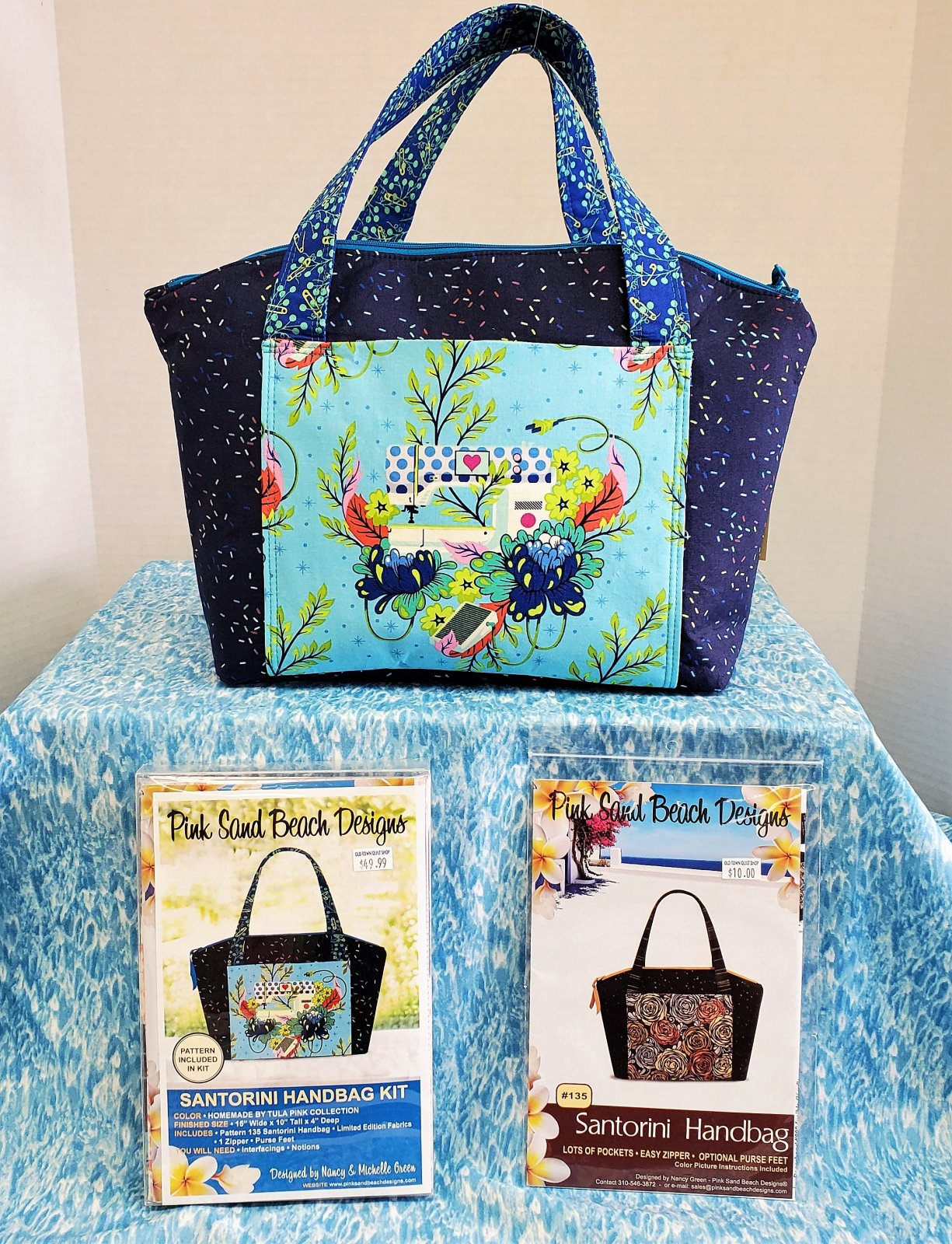 Santorini Handbag KIT - Tula Pink