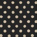 Sevenberry Canvas Natural Dots BLACK