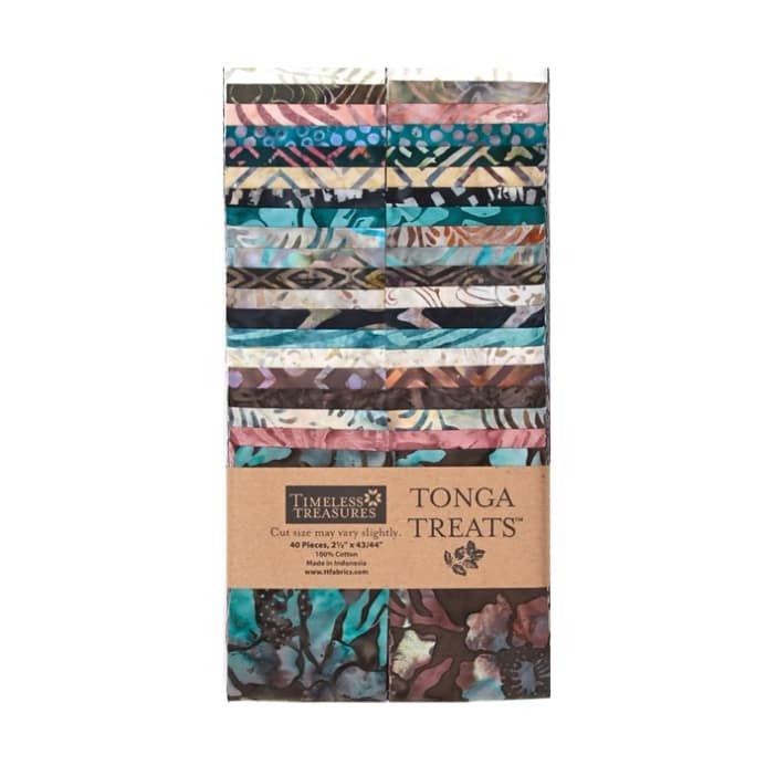 Topaz Tonga Treat 2 1/2 Strips, 40pcs