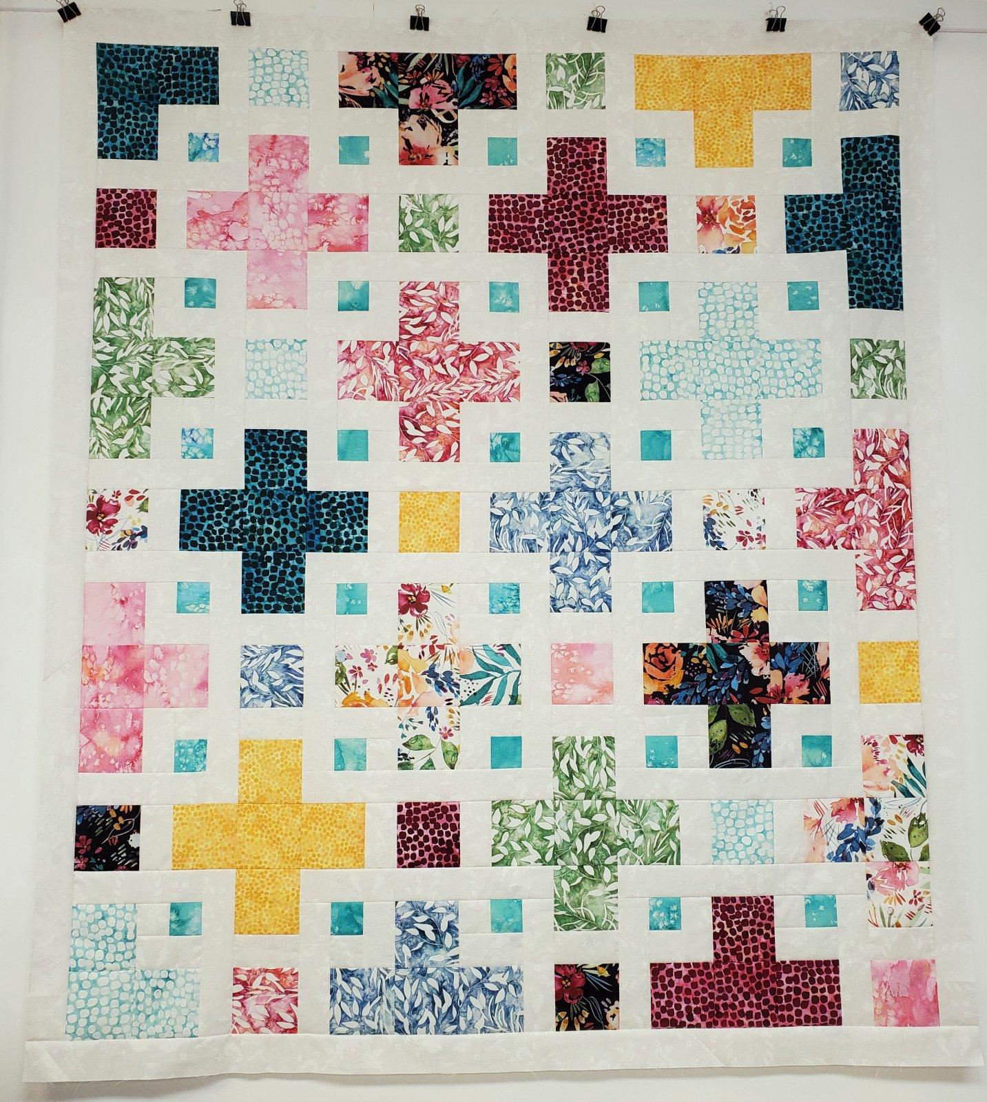 The Violet Quilt Kit