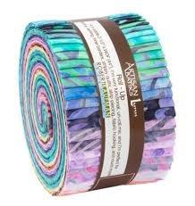Artisan Batiks Wavelengths 2 1/2 strips, 40pcs