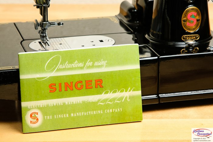 Manual, Singer 222 Featherweight