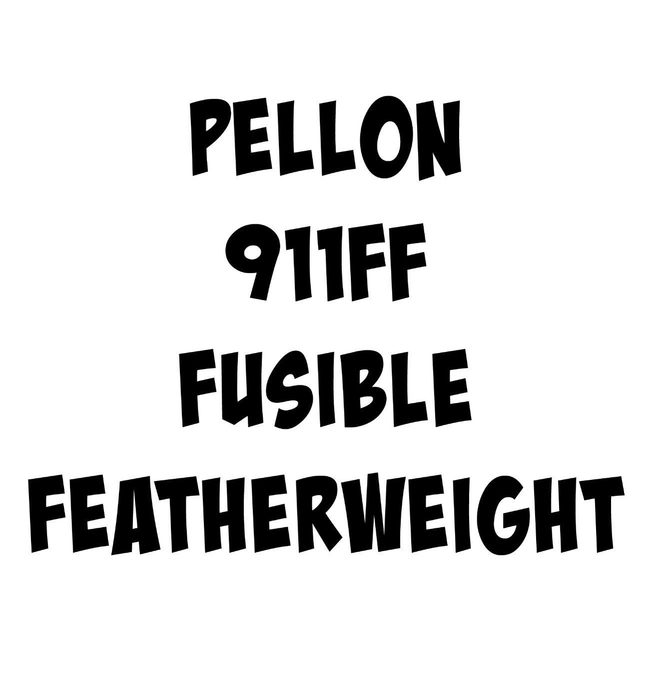 Pellon 911FF Fusible Featherweight  Interfacing