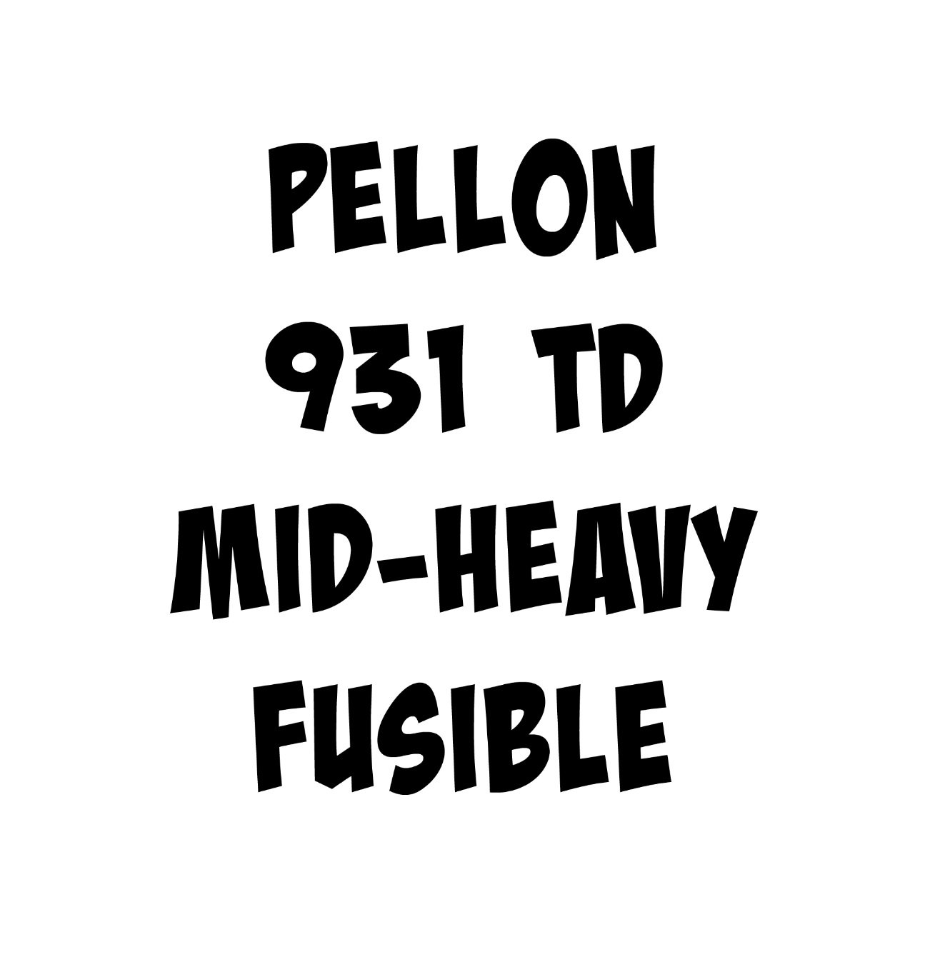 Pellon 931TD  Fusible Midweight Interfacing