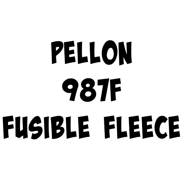 Pellon 987F Fusible Fleece 45in wide