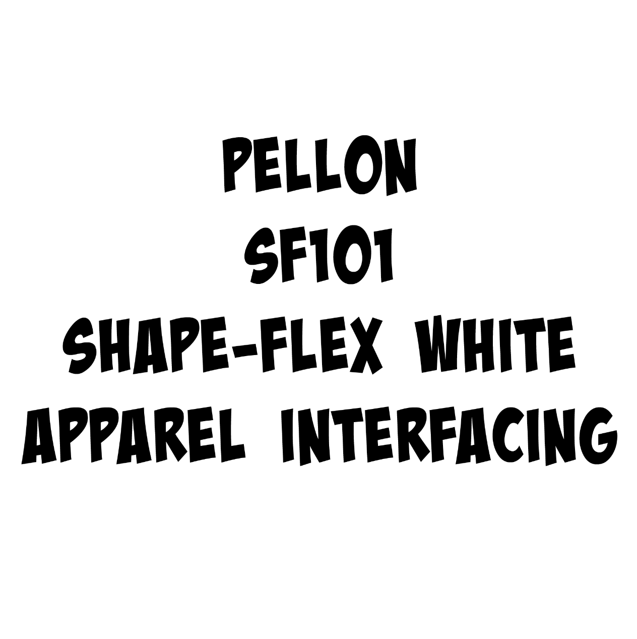 Pellon Shape-Flex Woven Cotton Stabilizer