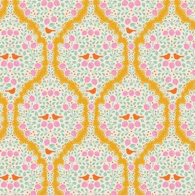 Tilda Lemon Tree Fabric (Lemonade)