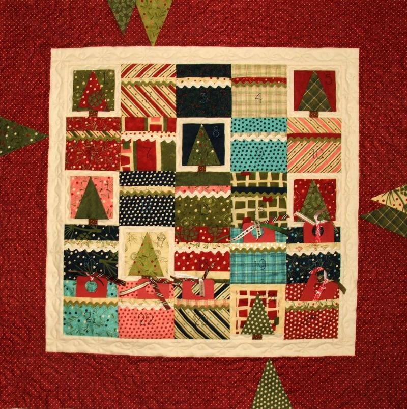 Charming Christmas Advent Quilt-Q6