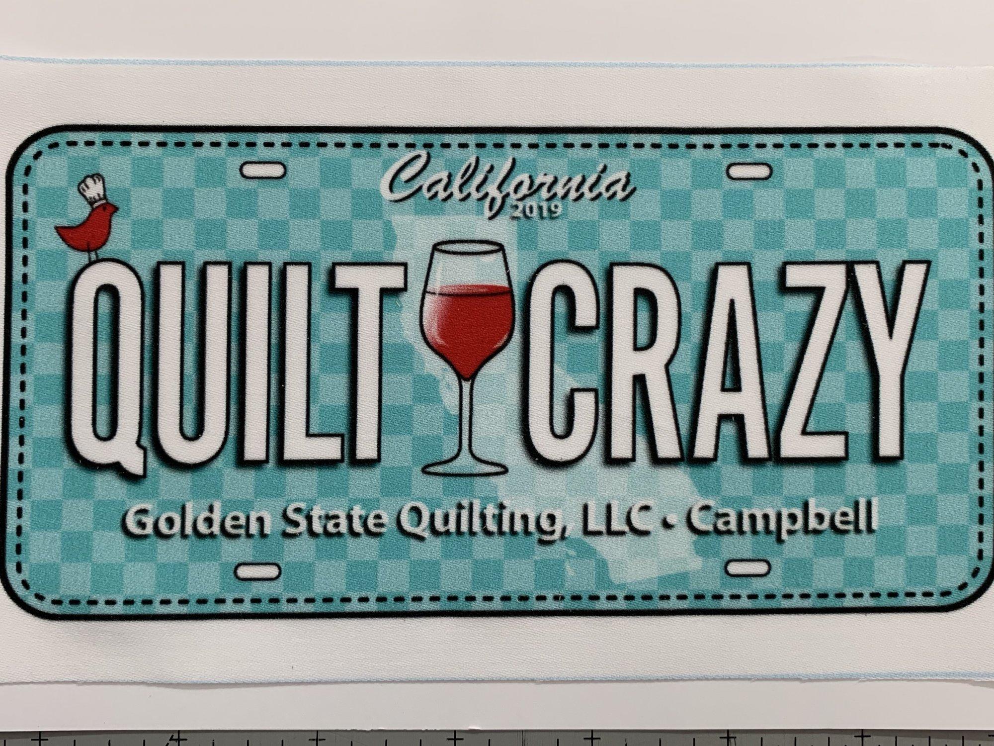 Row x Row 2019  License Plate