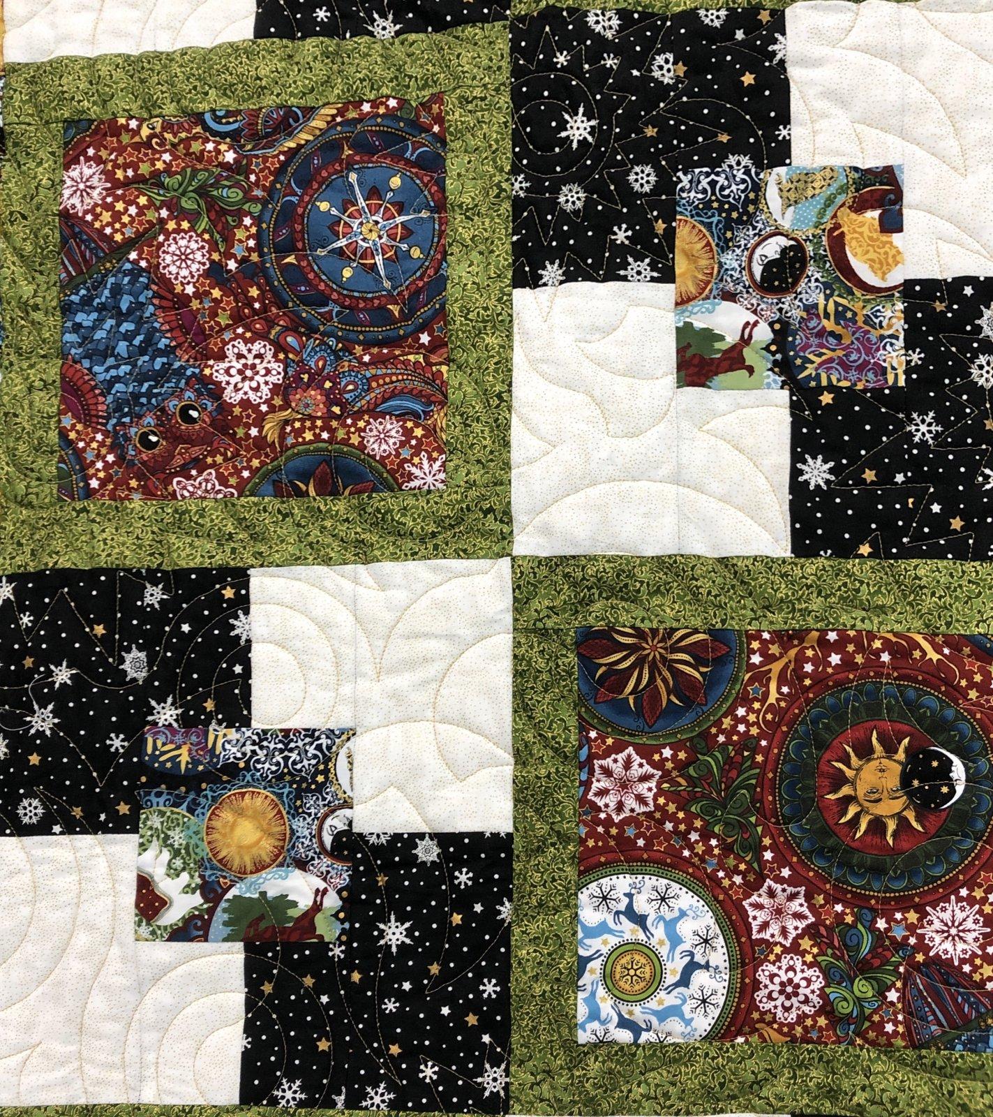 Celestial Winter Five Framed Kit