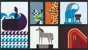 Geo Zoo - 16744-256 Retro - panel