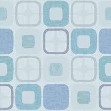 108 Geo-Square 9986 11 Light Blue Squares
