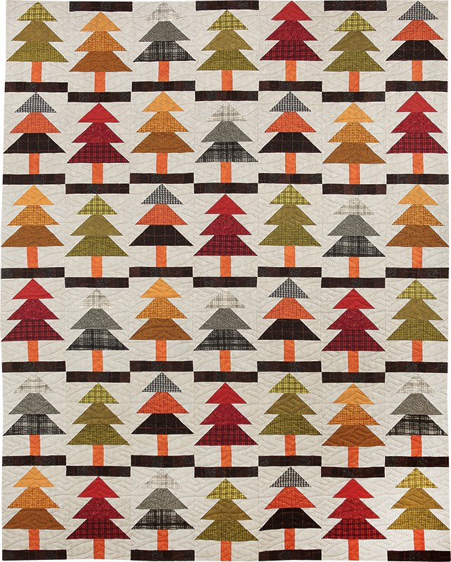 Forestry Center Quilt Pattern