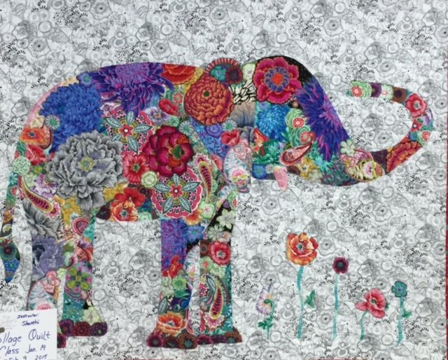 collage quilts with shanthi