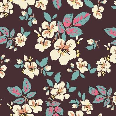 Tiara-Floral-Brown