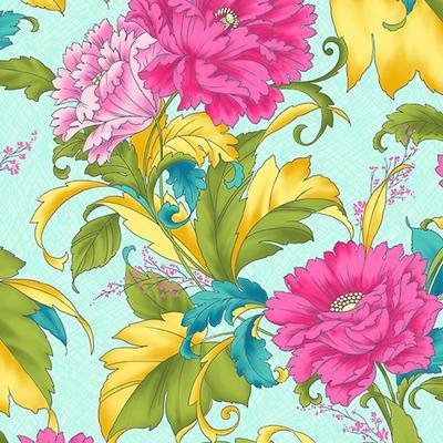 Dianthus-Floral Turq