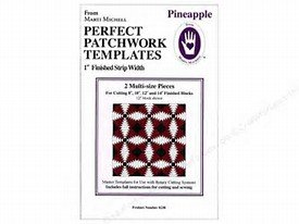 Perfect Patchwork Templates-Pineapple