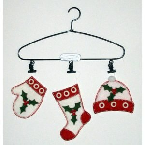 3 Ornaments-Red