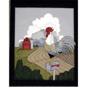 A Roosters View - Felt kit