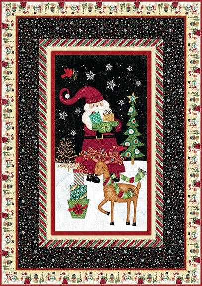 Holly Jolly Christmas Quilt Kit
