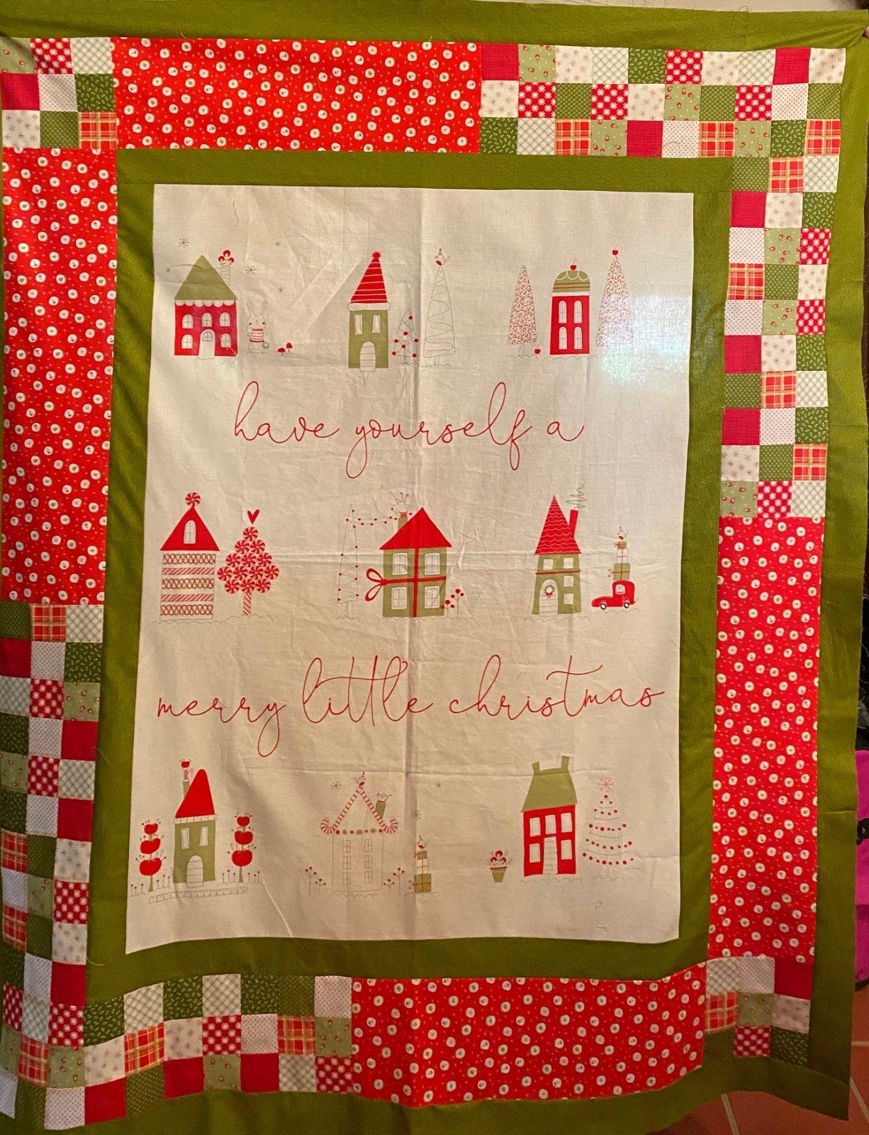 Merry Little Christmas Panel Kit