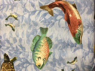 Wilmington Prints-A Lazy Afternoon-Fish