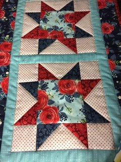 Go! Four Star Table Runner-Rose