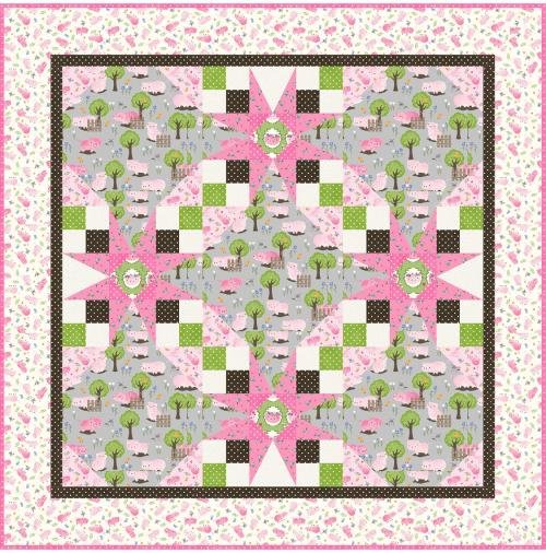 Lullaby Baby Quilt Kit
