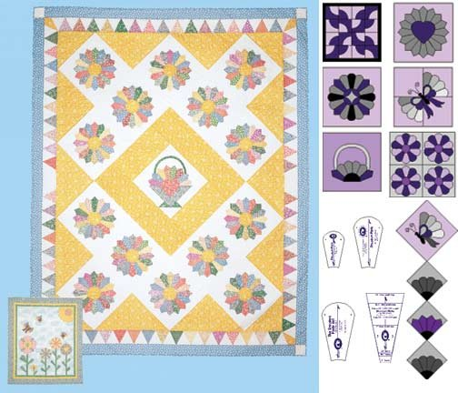Perfect Patchwork Templates Set Mini Dresden