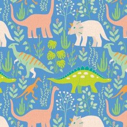 Dinosaur-Land Dinos-Blue