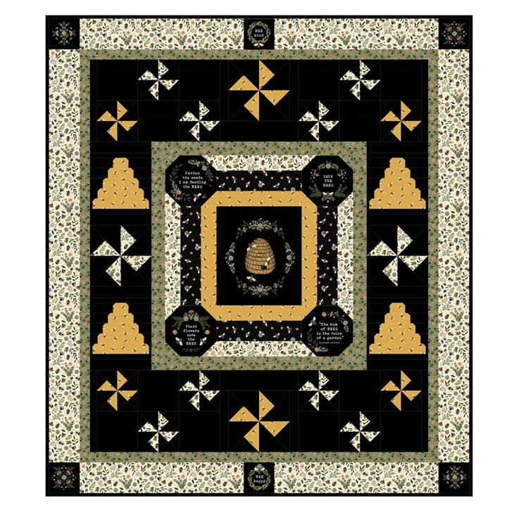 Bee Hive Quilt Kit