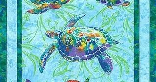 Calypso-Turtles Panel
