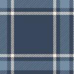Primo Plaid Flannels-Large Check Blue