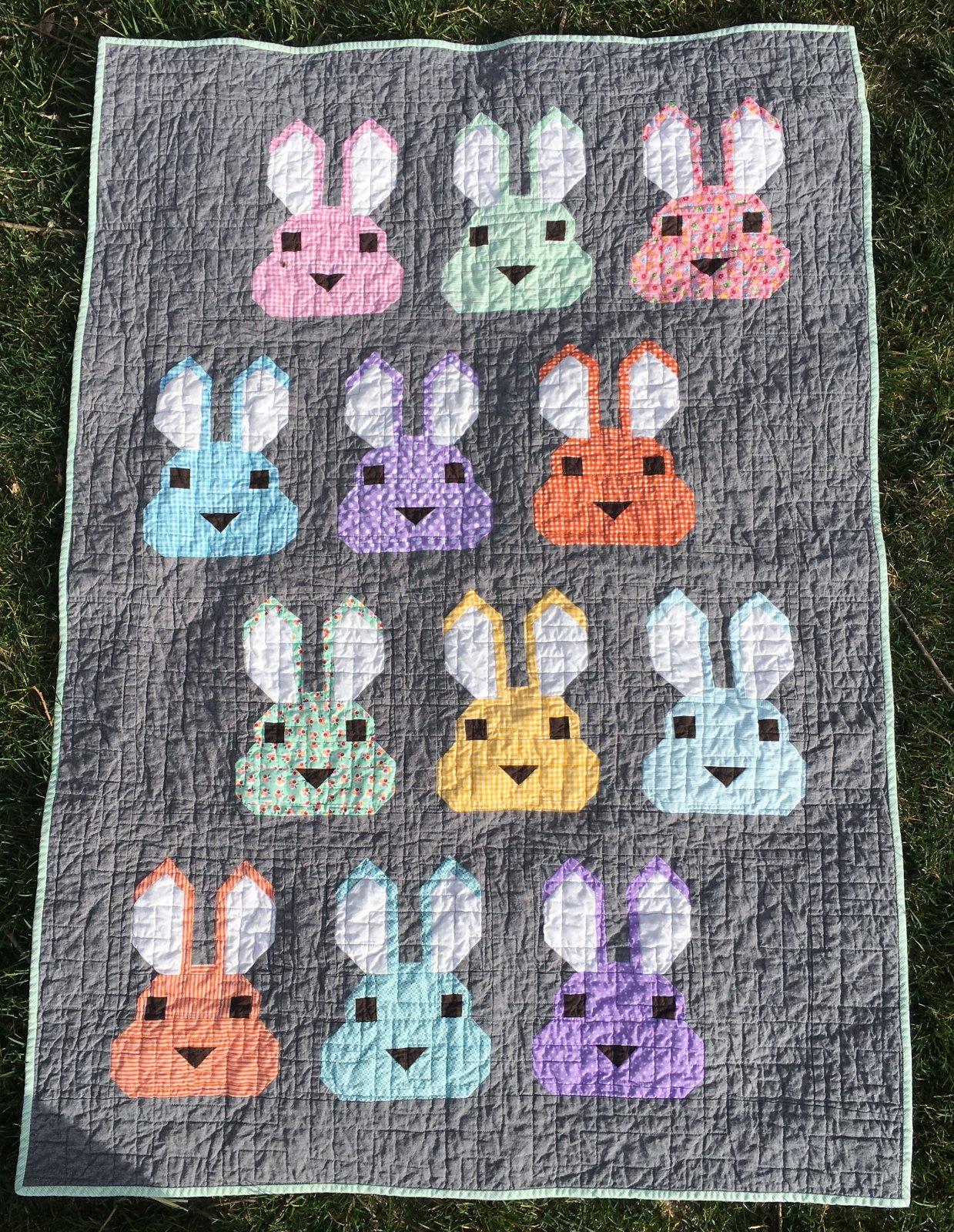 Bunny Quilt Kit