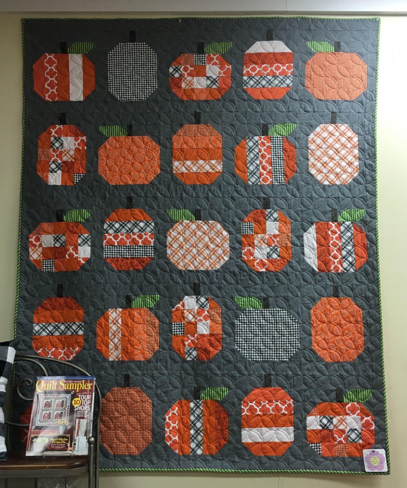 Pumpkins 58x72