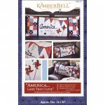 America Land that I Love/Bench Pillow Kit