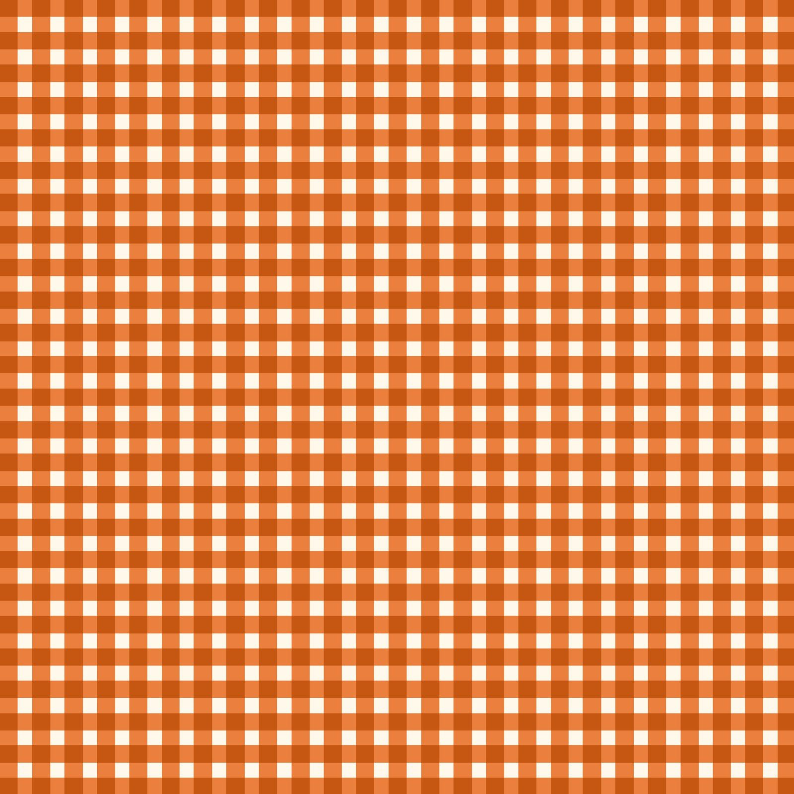 Beautiful Basics Classic Check Orange