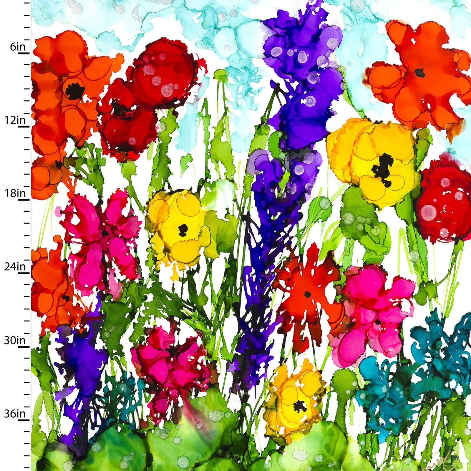 Lovitude Flower Garden Panel