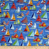 Clear Sailing Blue Multi 49196-213