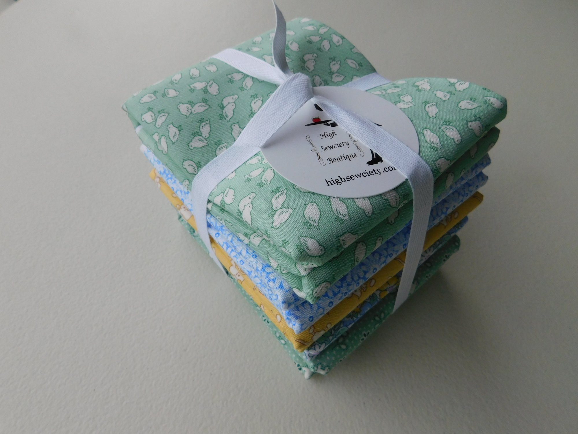 Henry Glass Nana Mae 1 Yard Fabric Bundle - Blue
