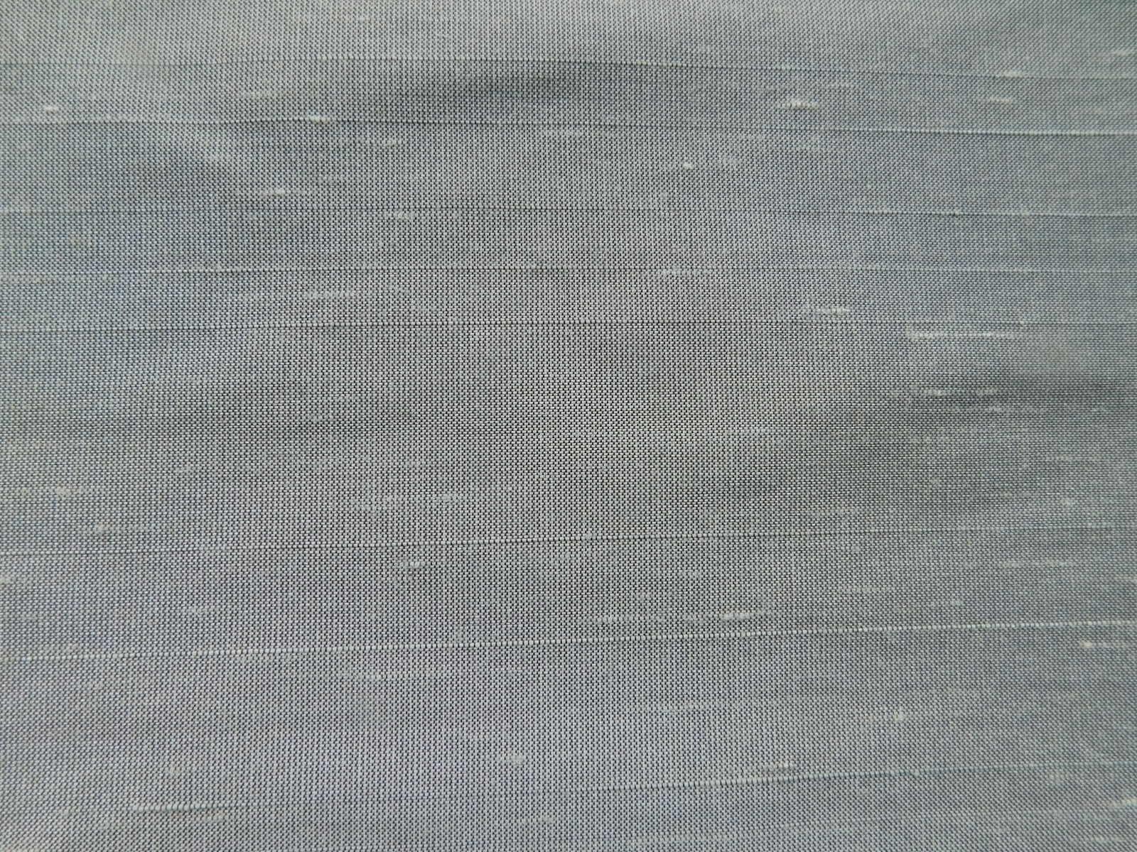 Silk Dupioni Pewter Fat Quarter