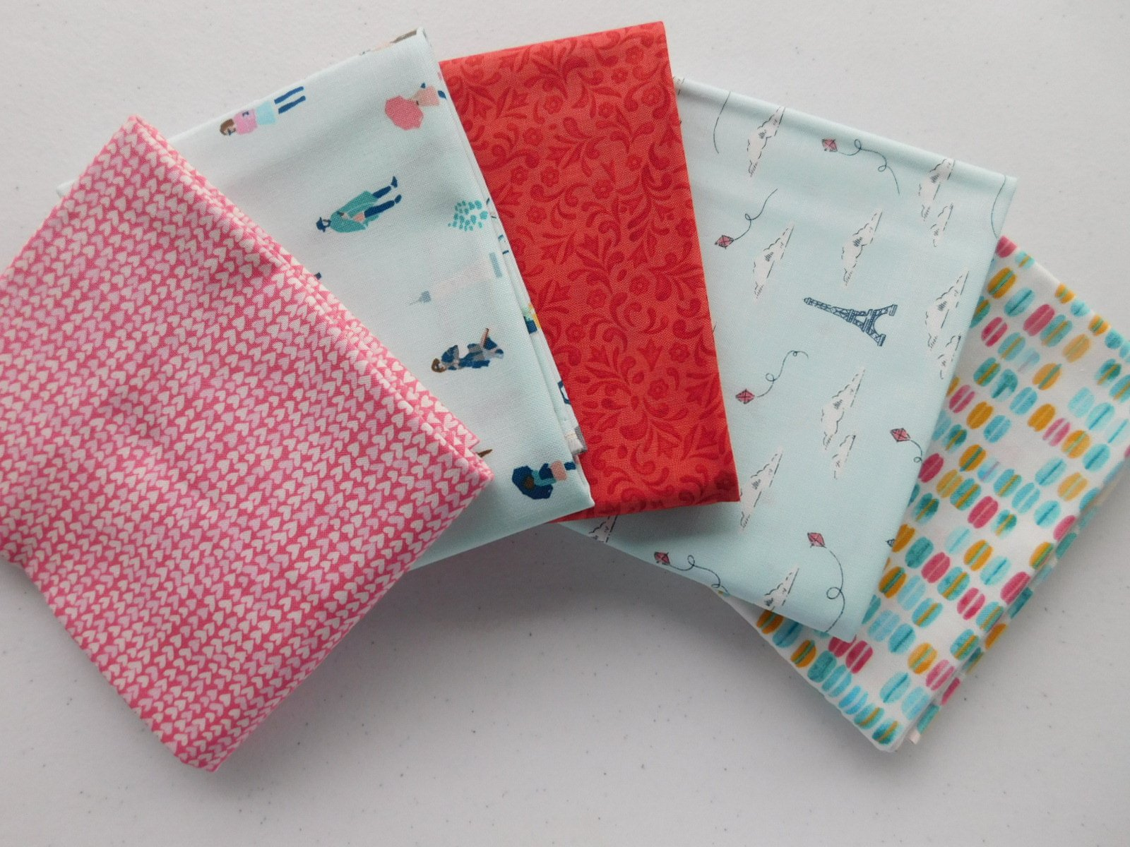 Paris Baby! Fabric Bundle - 1/2 yard
