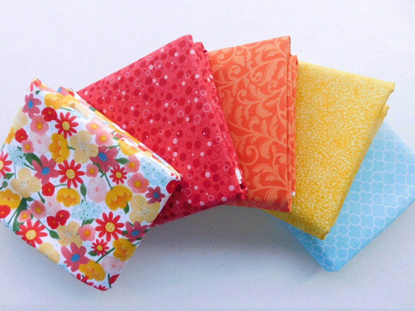 1 yd Fabric Bundle Santoro