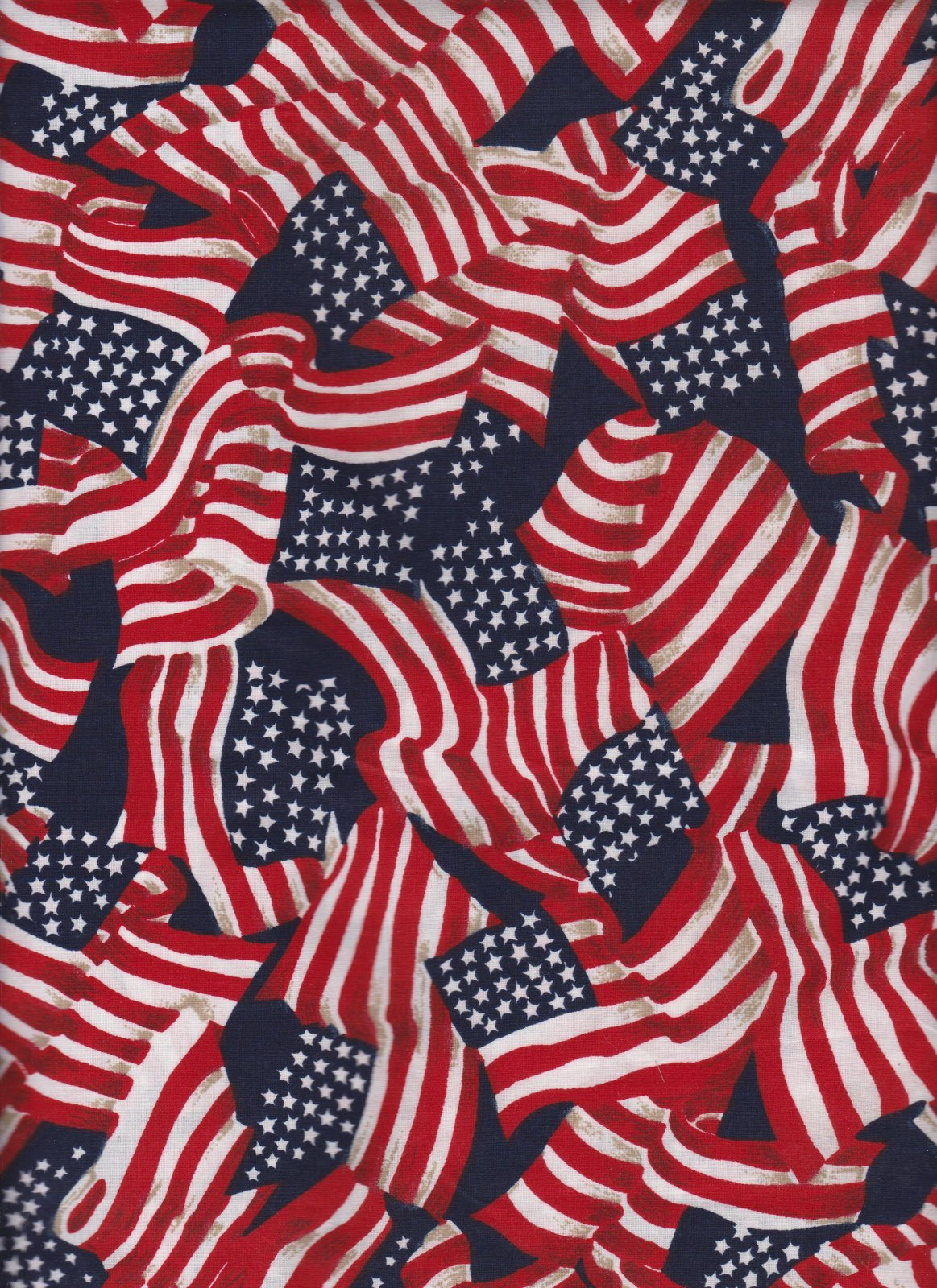 Made in the USA Packed Waving Flag 41355