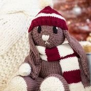 12 Days of Winter Teddy Bear+Hat+Scarf KIT in  Uptown Worsted