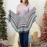 12 Days of Winter Holiday Lights Shawl KIT in Bella Cash