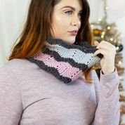 12 Days of Winter Sugar Plum Cowl KIT in Dona to Knit or Crochet!