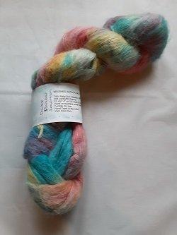 Cape May Fiber Co HD DOUBLE SEADRAGON  Brushed Alpaca Silk