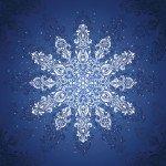 72 Sq Gradients Holiday Snowflake Kit